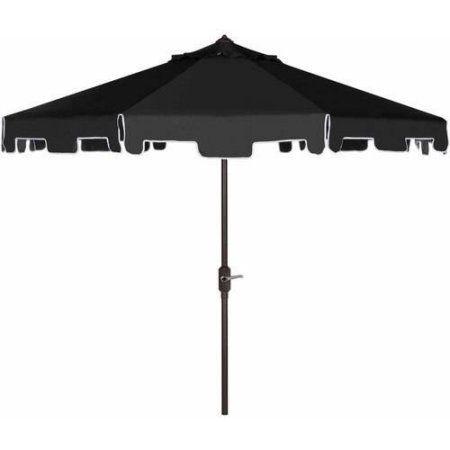 Safavieh Zimmerman Outdoor 9 Market Umbrella Multiple Colors