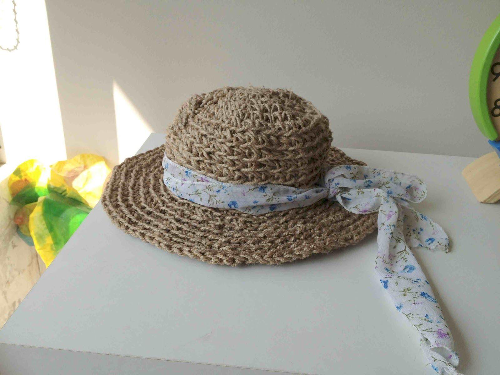 Crochet con rafia o hilo sisal | diarioartesanal | Accesorios ...