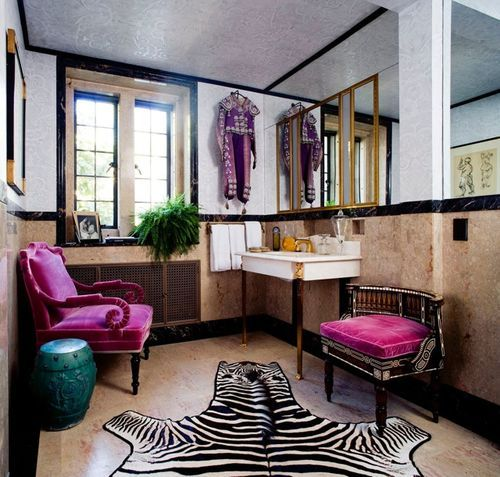 Zebra Rug Los Angeles: Chatting With Windsor Smith