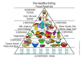 free healthy eating food pyramid 3rd grade pinterest healthy