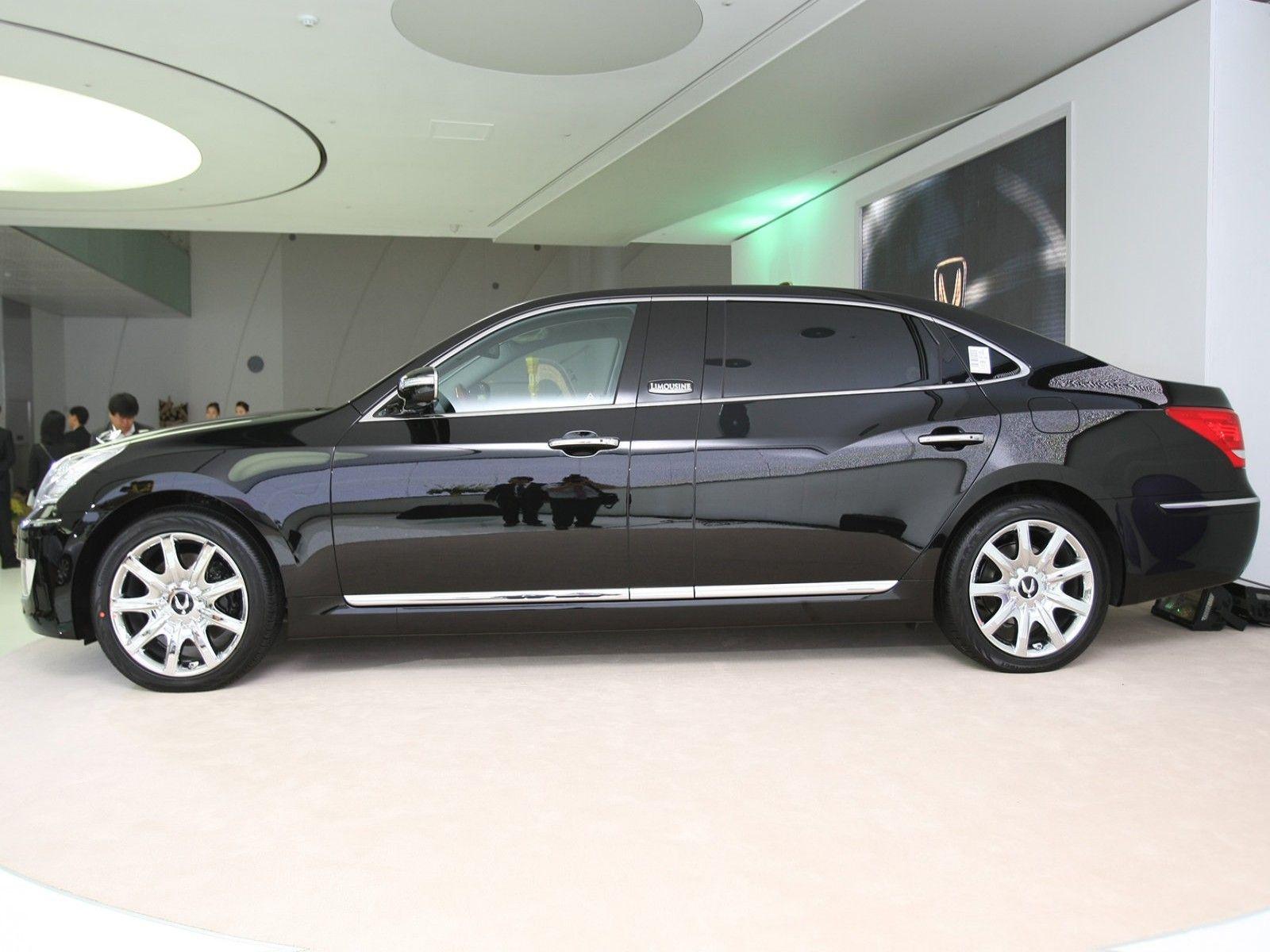 Hyundai Equus Wallpaper Hyundai Hyundai Cars Limousine
