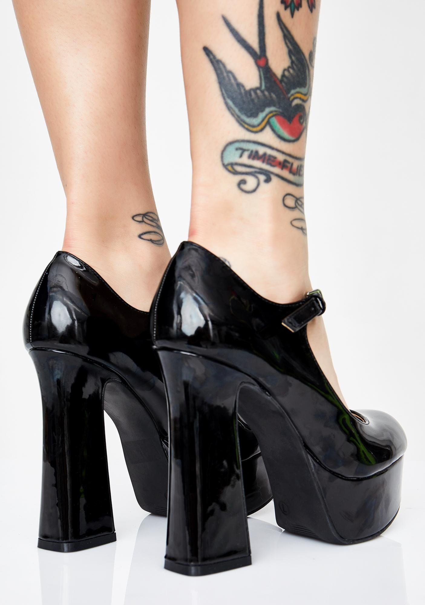 278925d5f38 Honey Divine Platform Mary Janes in 2019 | Shoes, glorious shoes ...