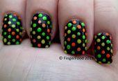 Photo of Tri Polish Disco Dots by fingerfood  Nail Art Gallery nailartgallery.na by N