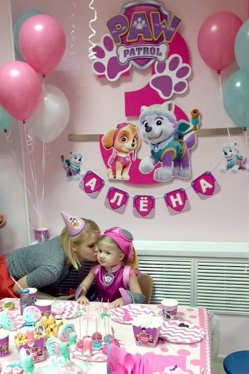 Imagen Relacionada Sky Paw Patrol Party Birthday Girl