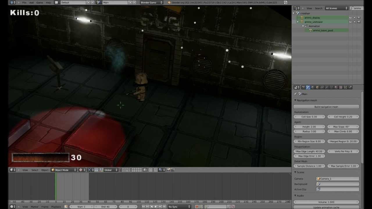 PartikelSystem 1 Blender 3D Game Engine Tutorial