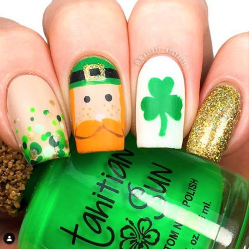 ST. PATTY'S DAY NAILS THAT'LL MAKE YOU FEEL LUCKY - Moosie Blue