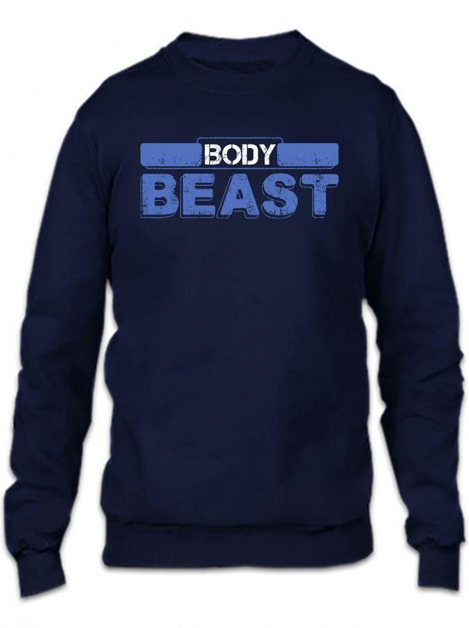body beast 1 Crewneck Sweatshirt