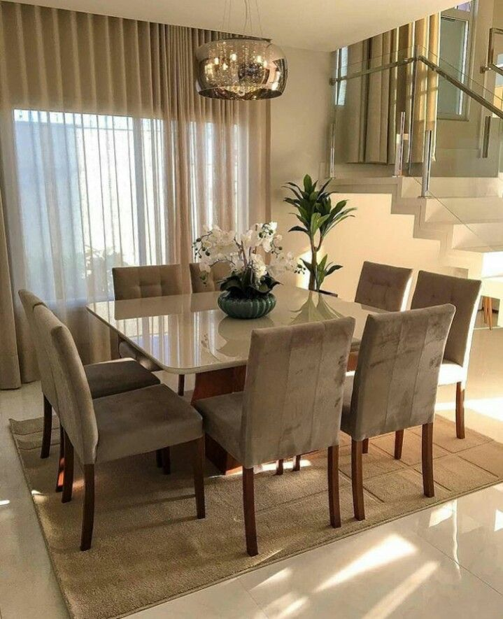 Pin by Carolyn Williams on Beautiful dining rooms in 2018 Dining - Beautiful Dining Rooms