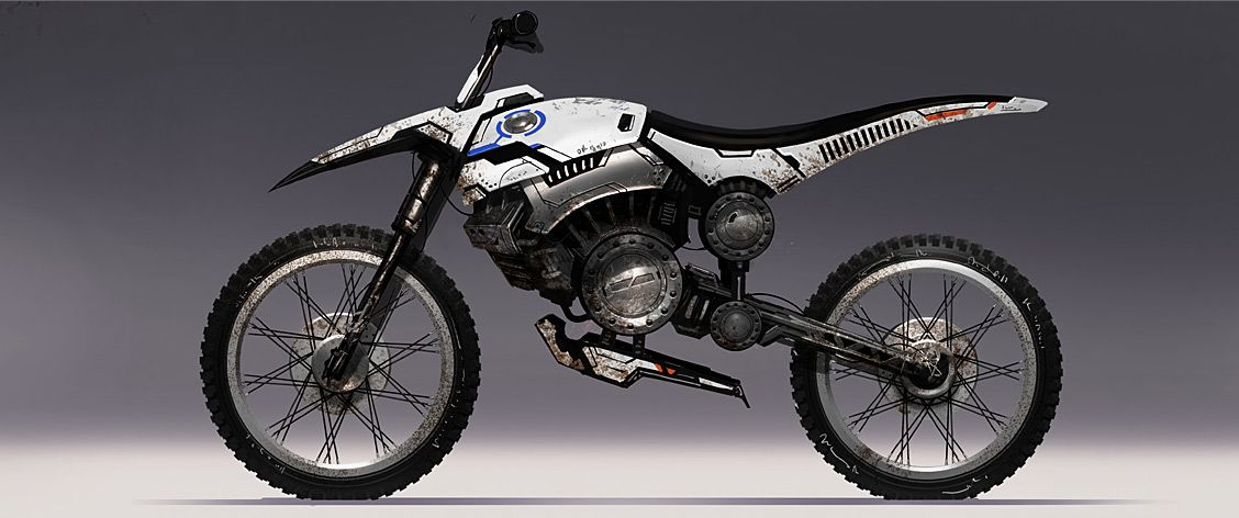 dirt bike concept concept motorcycle concept cars. Black Bedroom Furniture Sets. Home Design Ideas