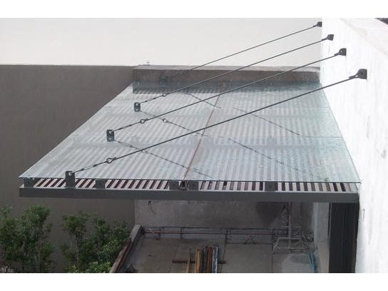 Estructuras metalicas y techados en mexico df aleros for Terrazas metalicas