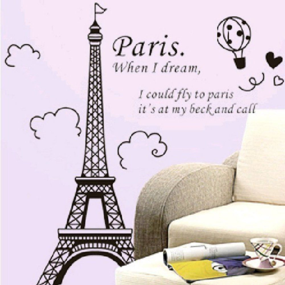 Wall decor amaonm glow in the dark wall decal loves in paris wall decor amaonm glow in the dark wall decal loves in paris eiffel tower fluorescent amipublicfo Images