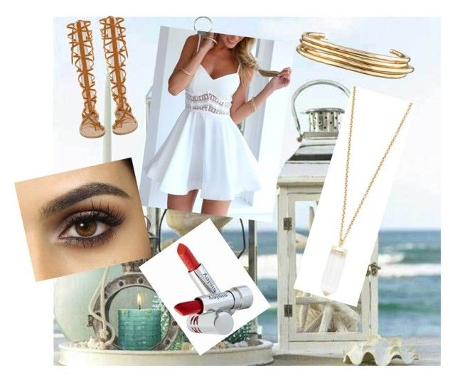 """""""Beach House"""" by mlambert14 ❤ liked on Polyvore featuring Jennifer Fisher, Forever 21 and Sisley Paris"""