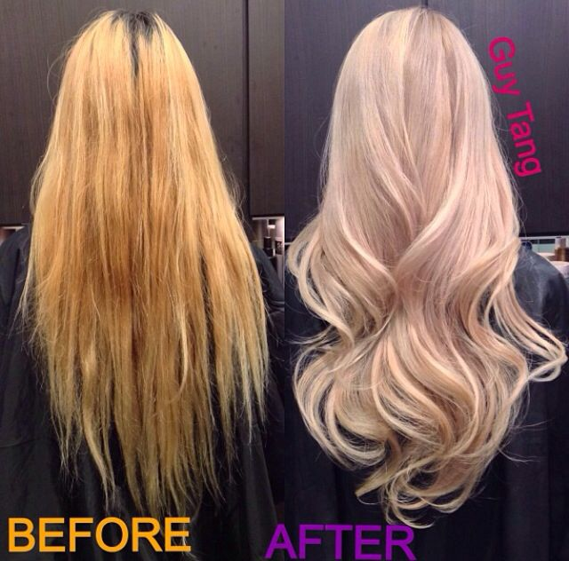 Pearl Blonde Hair By The Amazing Hair Stylist Guy Tang
