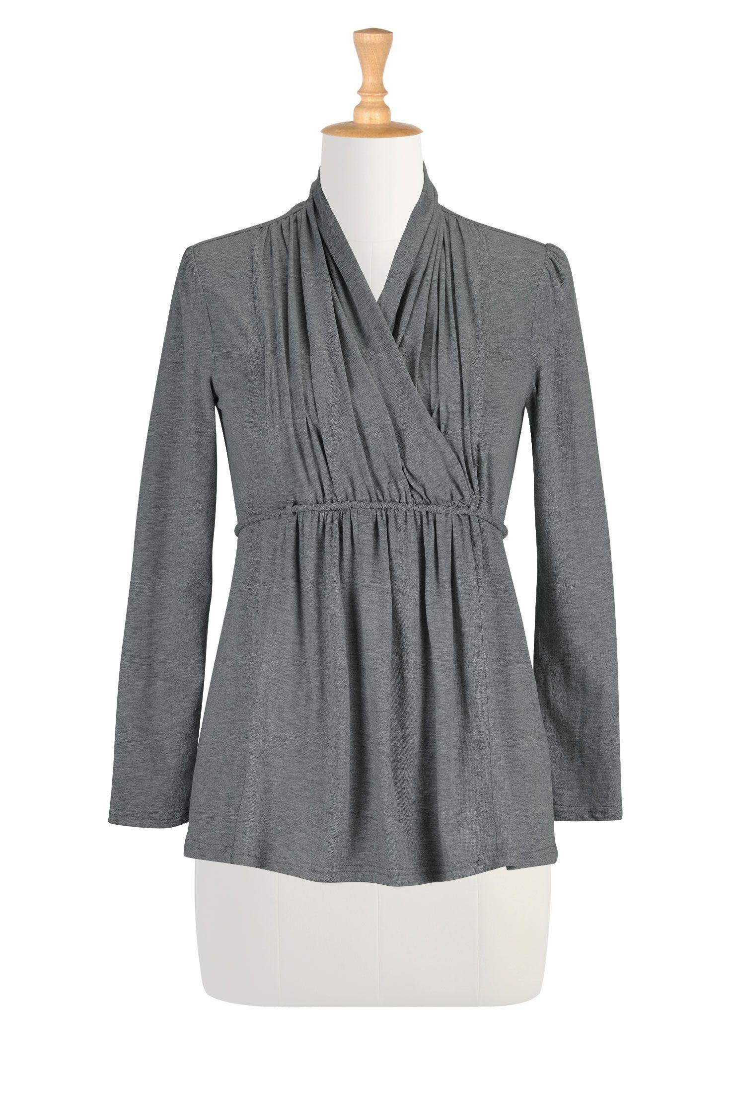 b840b1b3667 Womens designer clothes - Embellished Tops
