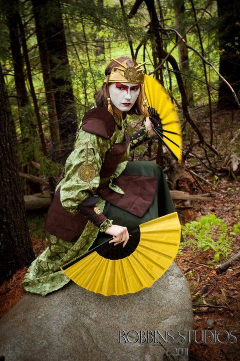 Kyoshi Warrior Suki, from Avatar the Last Airbender.   Probably one of the best cosplays of this character -Albinoid