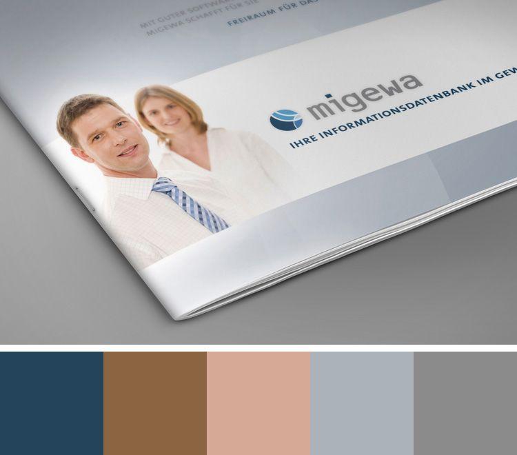 12ender - Color Palettes - Farbschema - Naviga Brochure