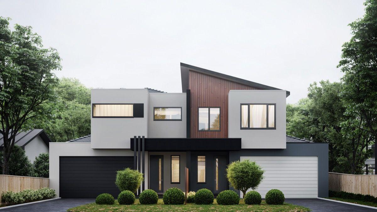 Provide A New Look By Exterior House Design Facade House Modern
