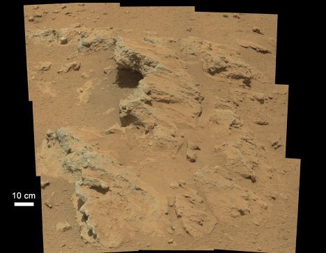 Mars Science Laboratory Curiosity has found evidence of past water near its landing site.