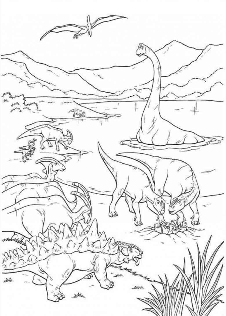 Dinosaurier 57 Ausmalbilder
