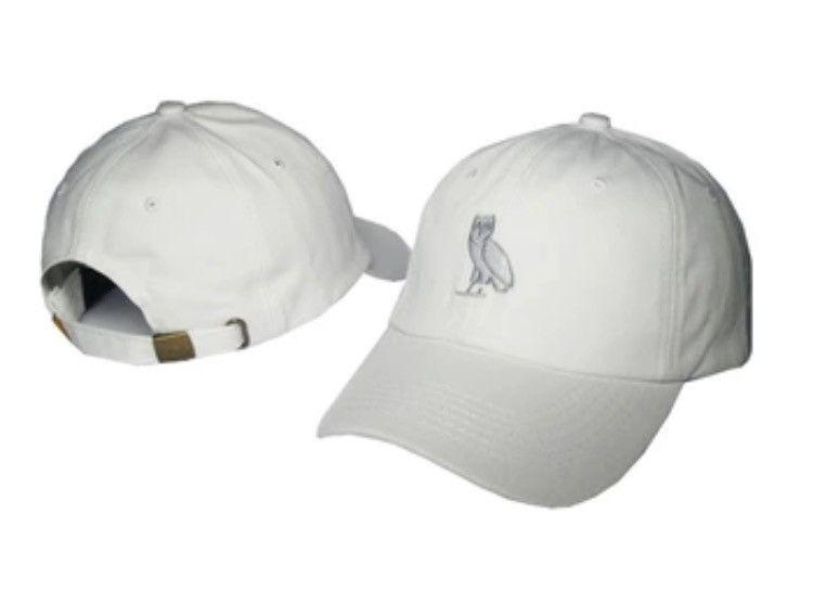b934ad935da OVO Owl Dad Hat White