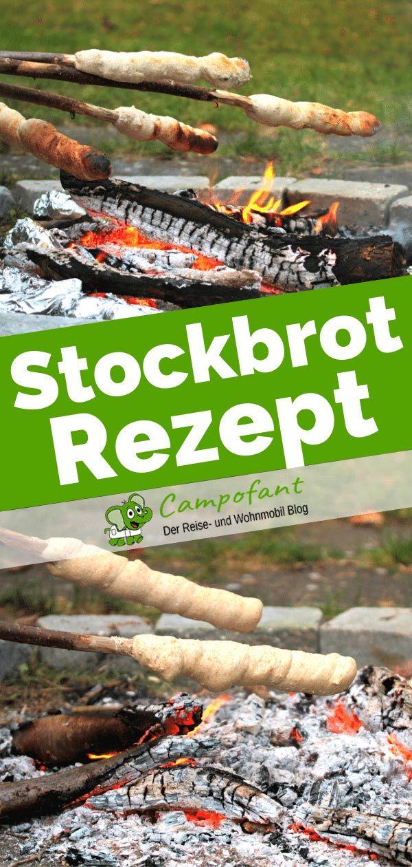 Stockbrot-Rezept: Herzhaftes und süßes Brot fürs Lagerfeuer - Campofant