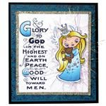 Stampendous : Cling - GLORY TO GOD