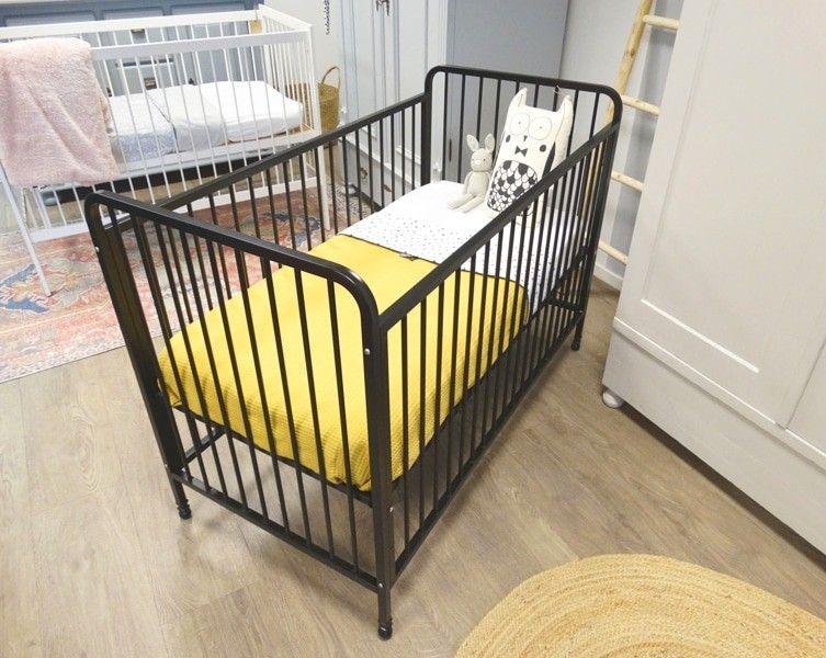 Nieuw Stoer ijzeren ledikantje in het zwart 🖤 | Ledikantjes - Babykamer JI-98