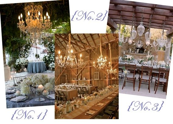 Chandeliers Doing Their Thing!