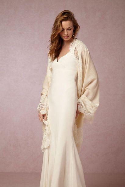 Bhldn Aletta Wrap In Bride Bridal Cover Ups At Bhldn Kelly And