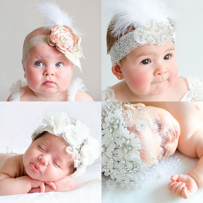 Diademas bebe diademas para bautizo para bebes bautizo - Diademas para bautizo ...