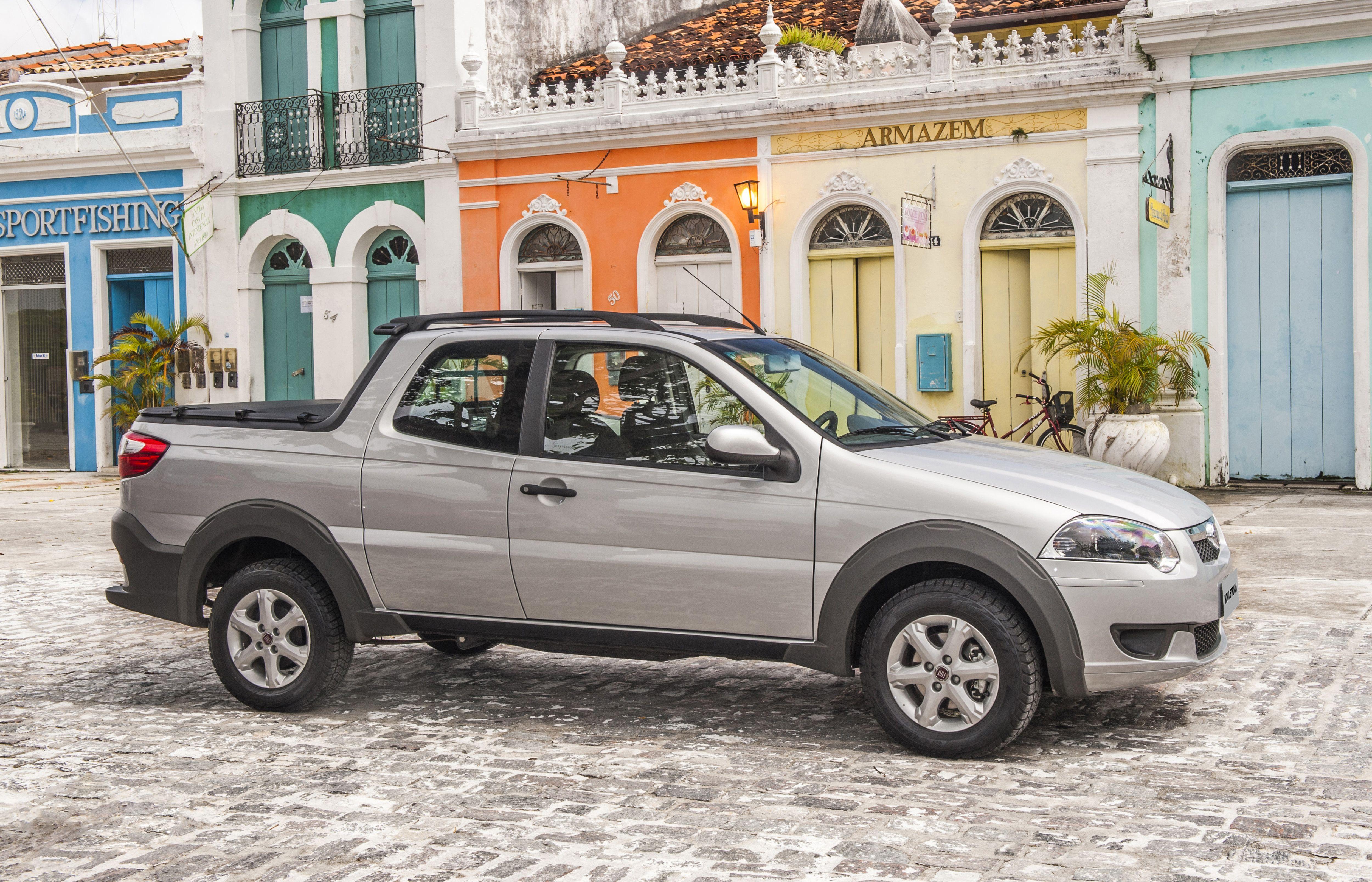 La Nueva Apariencia Externa De La Fiat Strada Trekking Cuenta Con