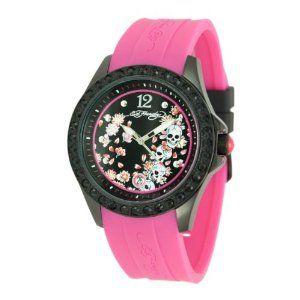 Ed Hardy Women's TE-PK Techno Pink Watch (Watch)