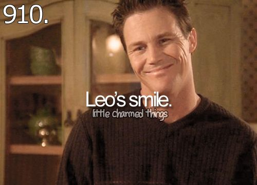 Leo Had The Cutest Smile Ever The Power Of Three Charmed In 2018