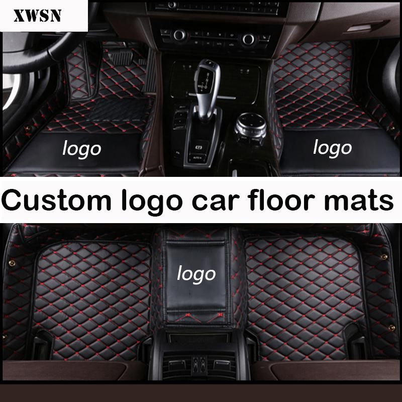Custom Logo Car Floor Mats For Ford All Models F 150 Focus