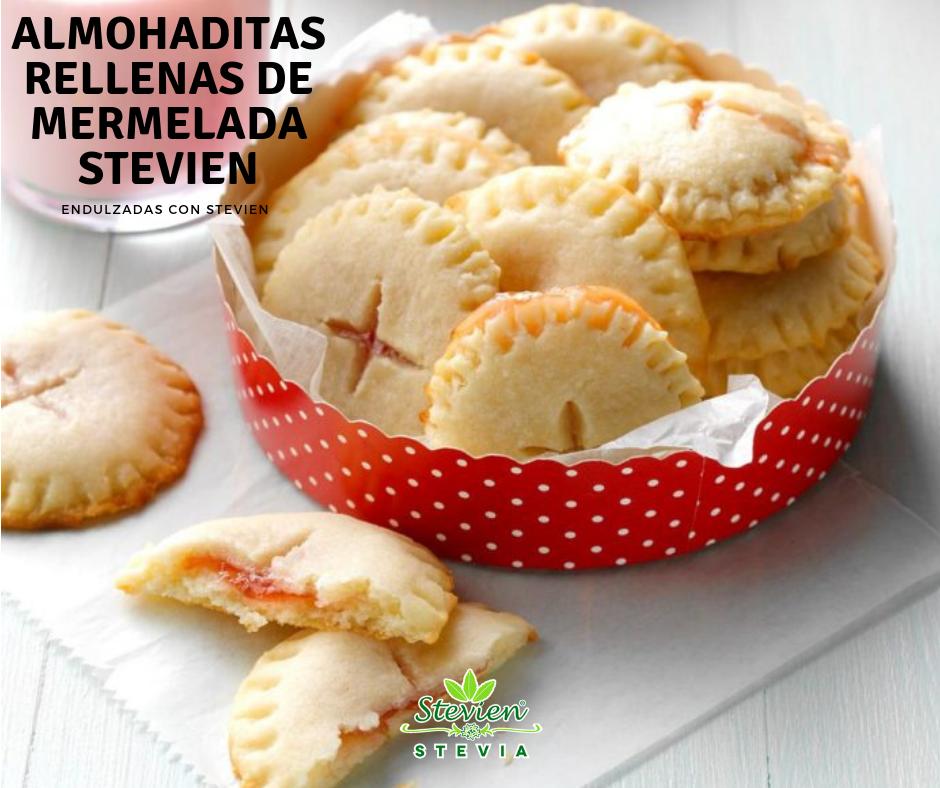 ¡Prepara unas almohaditas con mermelada Stevien de fresa