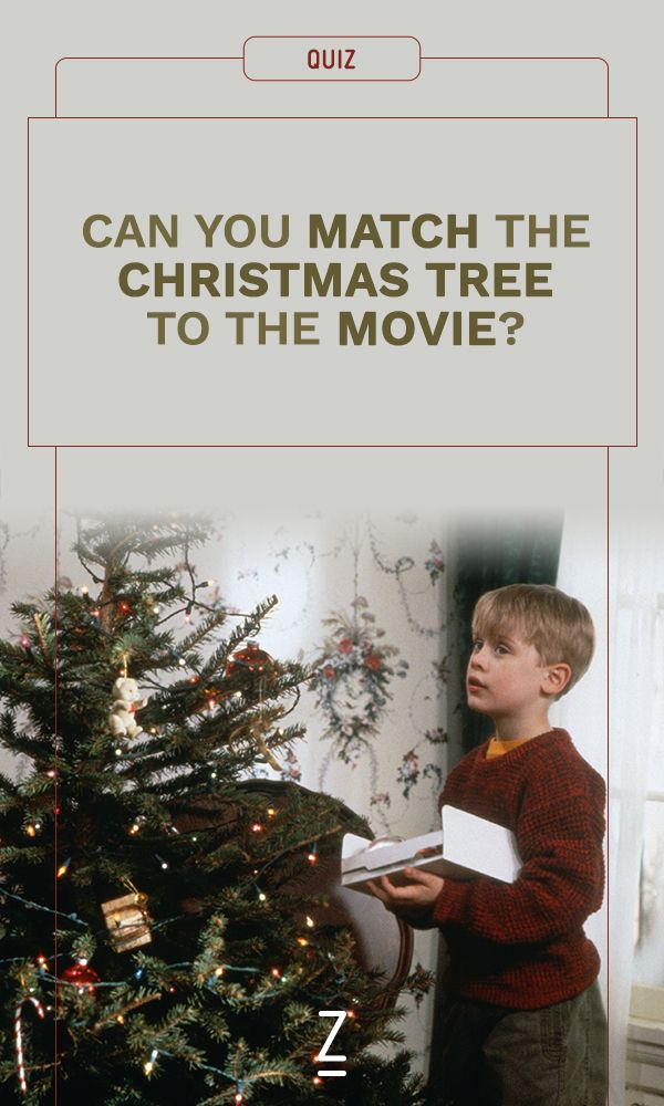 Can You Match The Christmas Tree To The Movie Christmas Quiz Kids Christmas Movies Christmas Planning