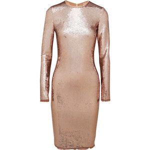 Tom Ford Sequined tulle dress