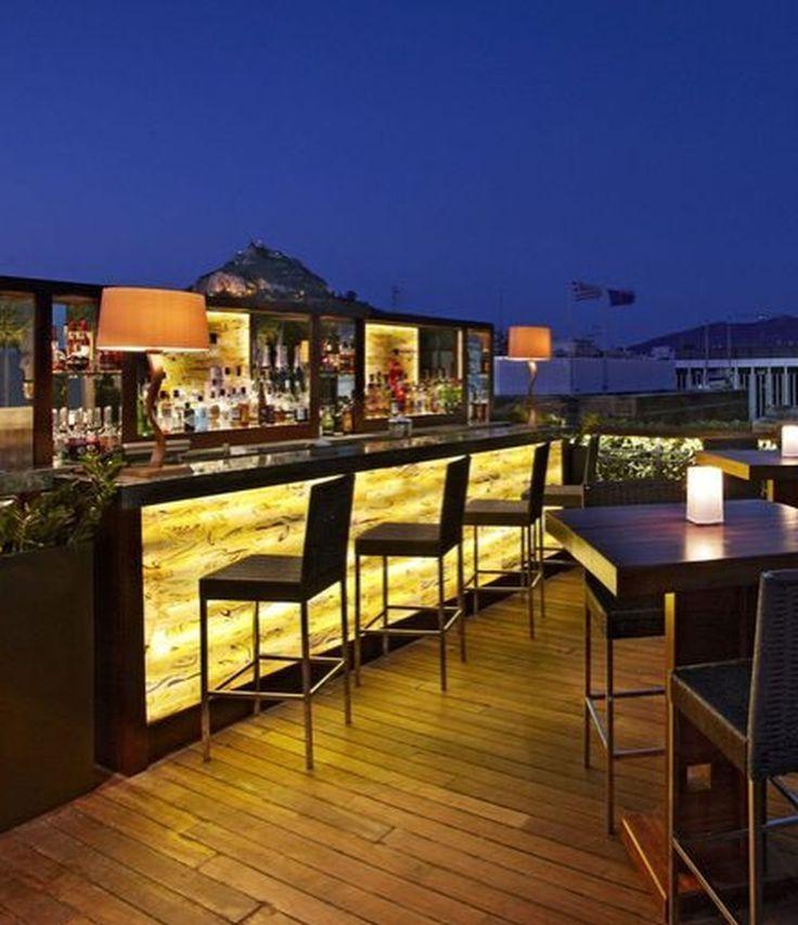 30 Stylish Roof Garden Design Ideas | Garden bar, Rooftop ...