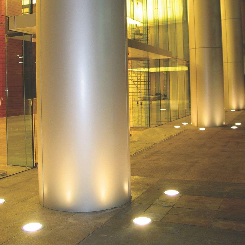 In Ground Uplighting Uplighting Lighting Grounds