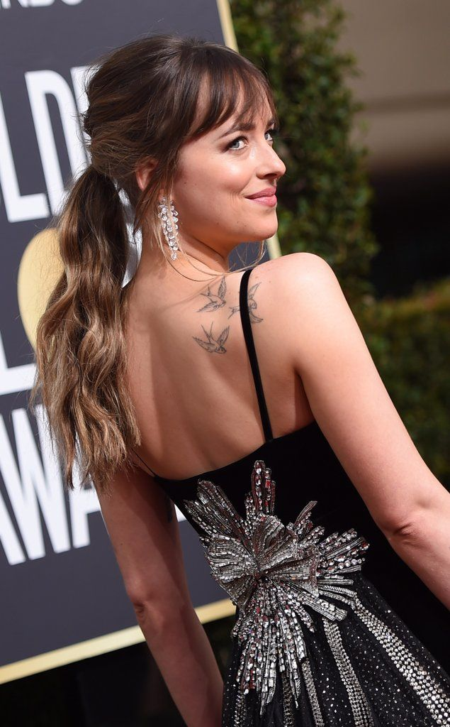 Don't Miss the Beautiful Celebrity Tattoos Peeking Out of Their Red Carpet Outfits