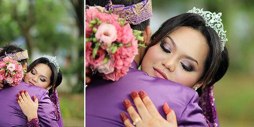 our postwedding & my DIY handbouquet - 19.2.12 reception (Malaysian Wedding)