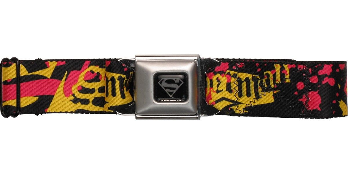 Superman Name Paint Splatter Seatbelt Belt #blackfriday #blackfridaysale #blackfridaydeals #blackfriday2015