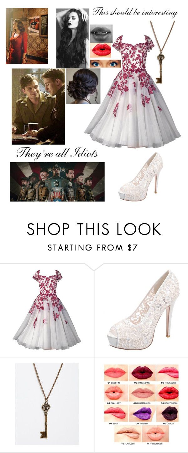"""""""Chapter 7 part 2"""" by therealmadhatter ❤ liked on Polyvore featuring Sebastian Professional, And Mary and NYX"""