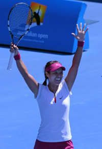 Na Li into her 4th SLAM FINALS. Na has one Major - the French Open in 2011 - & a 2X Finalist at the Australian Open, in 2011 (to Kim Clijsters) and 2013 (to Victoria Azarenka). The Chinese will try and make it third time lucky here this year.
