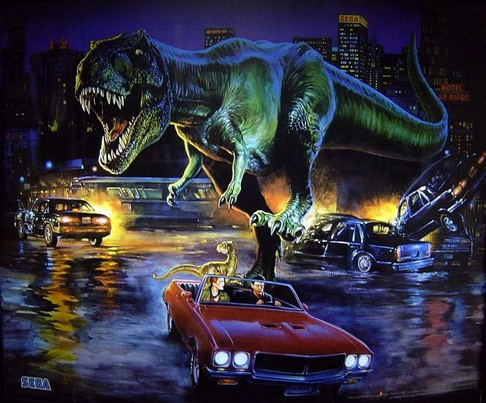 The Lost World Jurassic Park Concept Art | Jurassic park ... |The Lost World Jurassic Park Concept Art