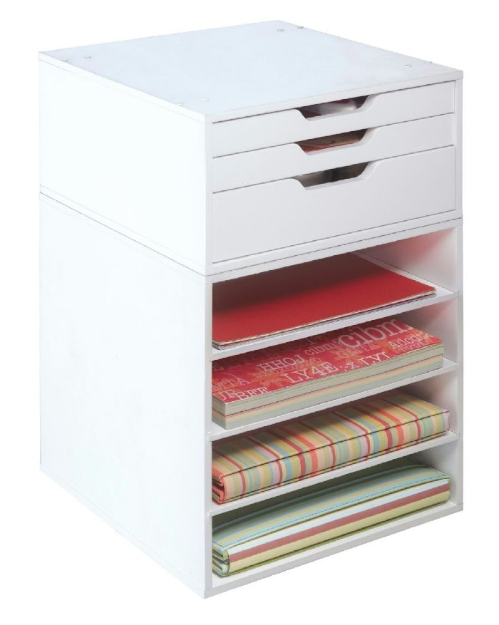 Letterpress Drawers Organizer - Compatible with Jetmax craft storage
