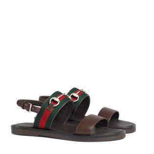 Children\u0027s web horsebit sandal