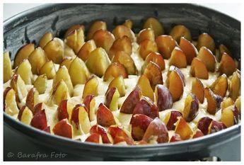 Rezept Zwetschgenkuchen Rührteig barafras kochlöffel saftiger zwetschgenkuchen mit rührteig