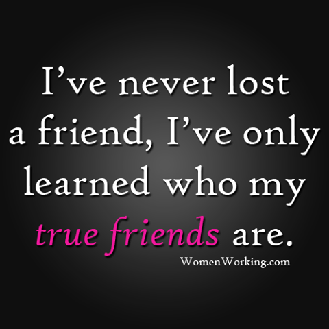 Never Lost A Real Friend