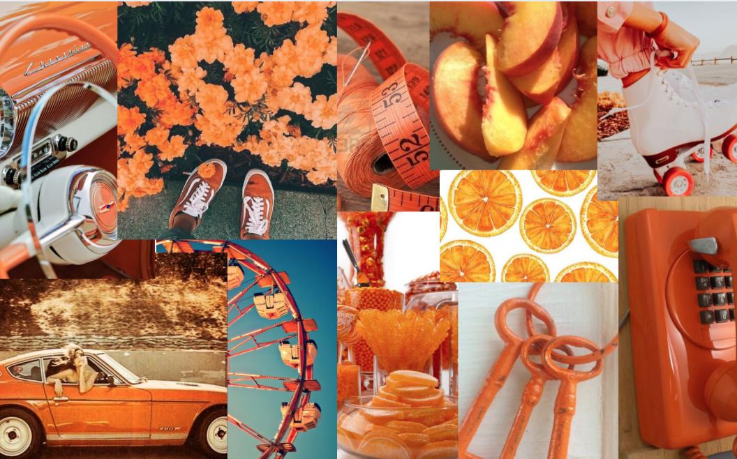Orange Macbook Bildschirmschoner Aesthetic Desktop Wallpaper Desktop Wallpaper Art Wallpaper Notebook